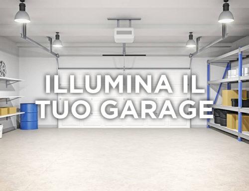 Illuminazione LED per il tuo garage