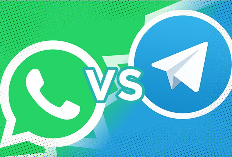 Telegram contro Whatsapp: la sfida si fa intensa!