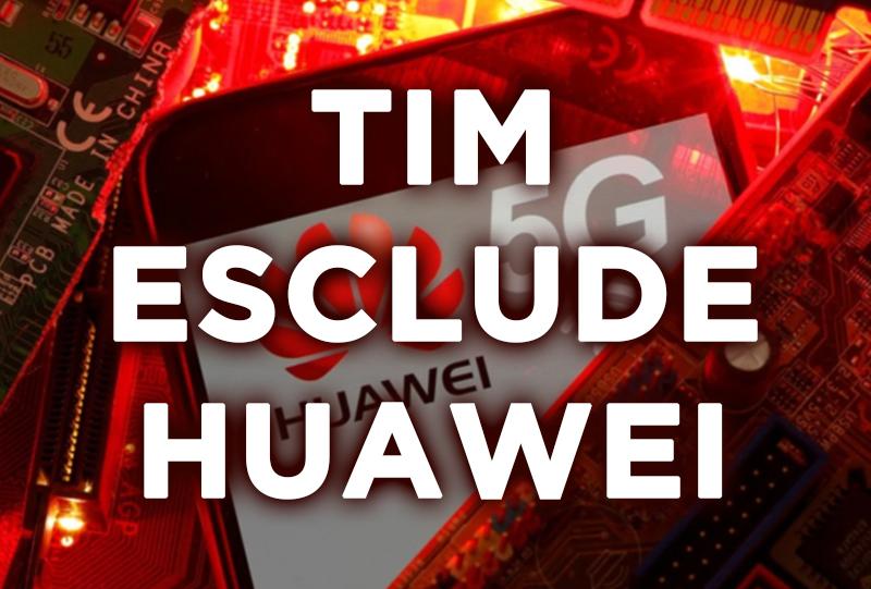 TIM esclude Huawei dalla rete 5G