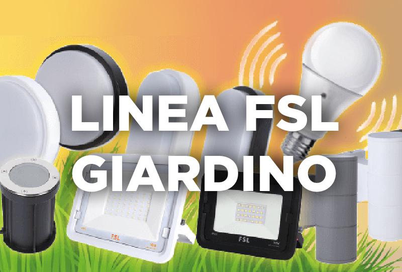 Scopri l'illuminazione da giardino FSL!